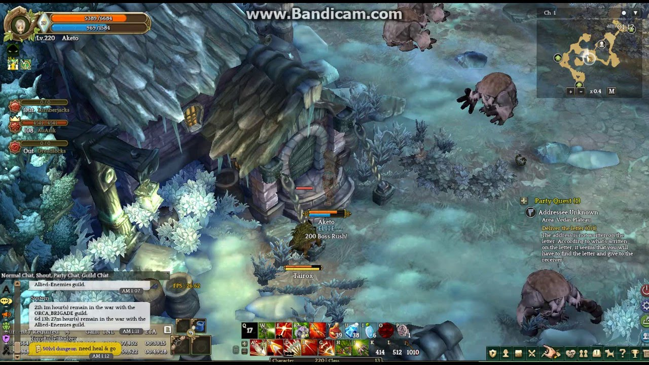 tree of savior quest addressee unknown youtube