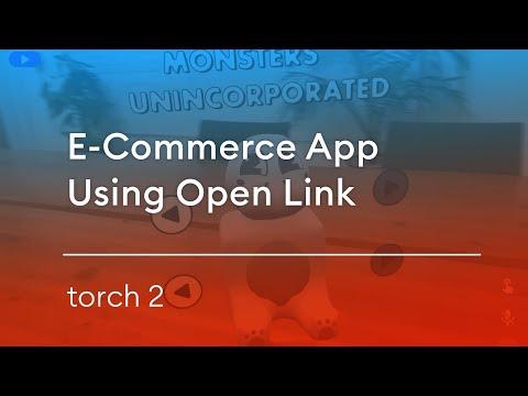 E-Commerce App Demo Using Open Link
