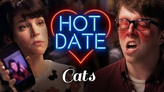 Either the Cat Goes or I Do | HOT DATE by : CollegeHumor