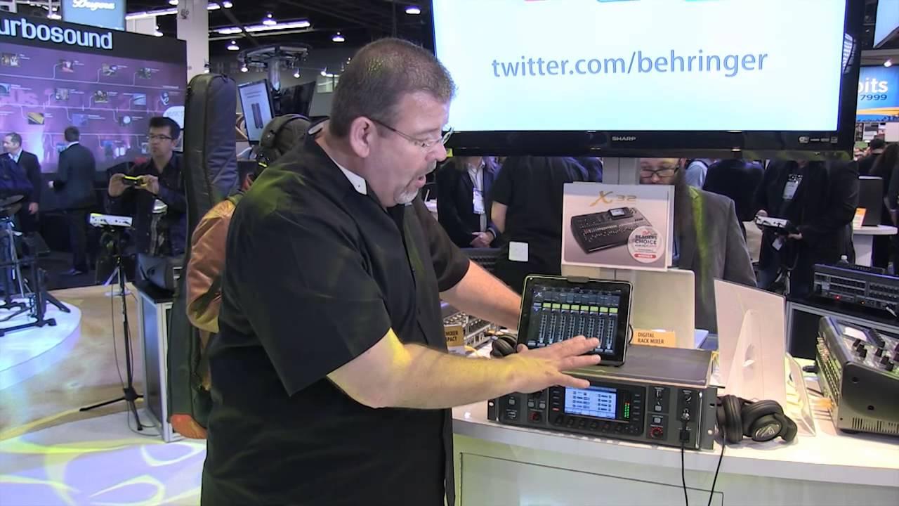 behringer x32 rack digital rack mixer review