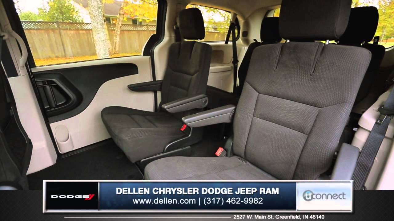2015 Dodge Grand Caravan Interior Review In Greenfield In Youtube
