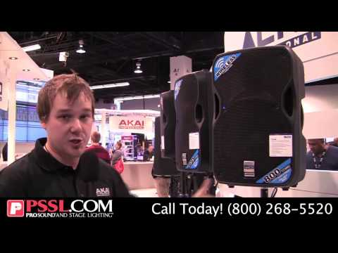 Black and TrueSonic Speaker Series from Alto Professional - NAMM 2015 - PSSL