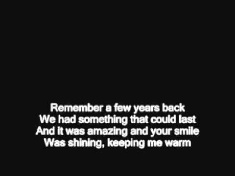 You're Not Here - original w/ Lyrics