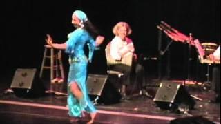 ICTM 2011 - Belly Dance to Live Arabic Music - Saidi/Baladi Performance