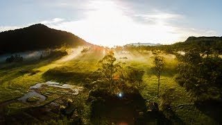 Epic morning view from Indonesia with love, DJI Phantom 2 Vision