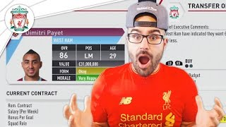 LIVERPOOL'S FIRST BIG SIGNING! LIVERPOOL FIFA 17 Career Mode #01