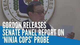 'A game changing day:' Gordon releases Senate panel report on 'ninja cops' probe