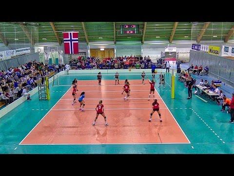 Volleyball NM U15 finale jenter 2017