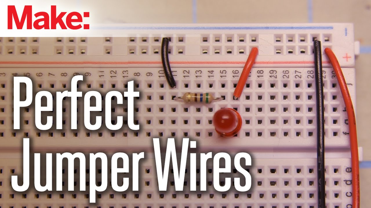 Cutting Perfect Jumper Wires Youtube Machine Circuit Board Buy Boardwelding