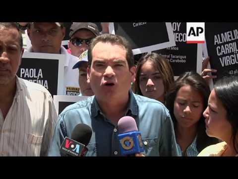 Venezuela opposition protest against Maduro