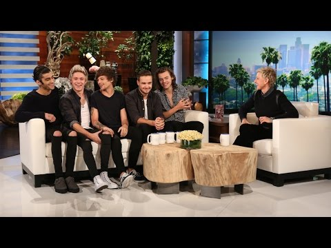 One Direction Catches Up with Ellen