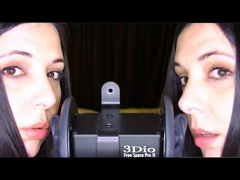 Binaural Twin ASMR Tingle Blitz: Blowing In Your Ears. You Can Feel My Breath In Your Ears!
