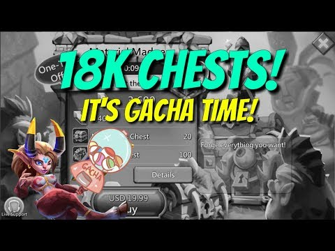 18k Chest Opening Live! - Lords Mobile