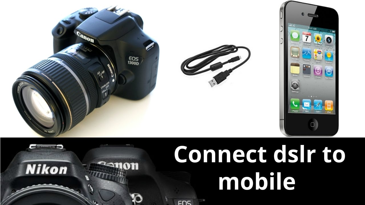 how to connect dslr to mobile in hindi | homemade flipscreen | canon 700D