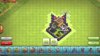 Clash of Clans   Cool Town Hall 8 Hybrid Base Batman Speed Build