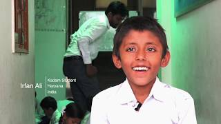 Irfan's story (The Kadam Step-Up Programme, supported by Dell Giving)