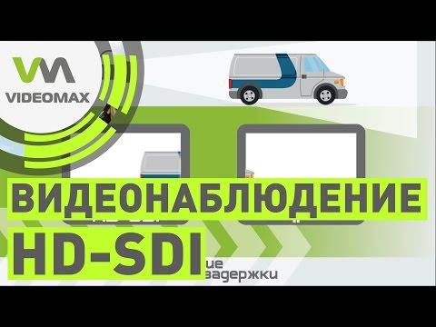 Сферы применения технологии HD SDI.  Где HDcctv дает выгоду?