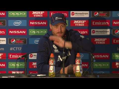 ENG v NZ: Martin Guptill pre-match press conference