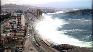 ماقبل الكارثه   زلزال تسونامي