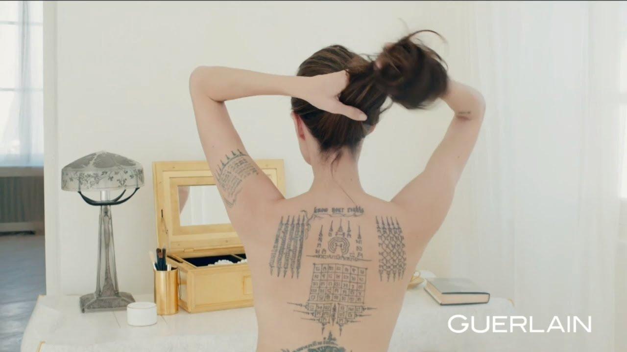 Angelina Publicité Mon Guerlain Jolie 2018 KclF13JT