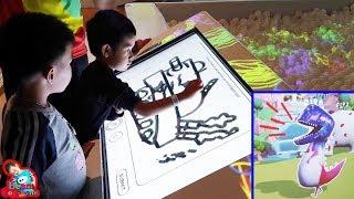 น้องบีม | เล่นเกมส์ดิจิตอล3มิติ สวนสนุกเมกาฮาร์เบอร์แลนด์ Indoor Playground
