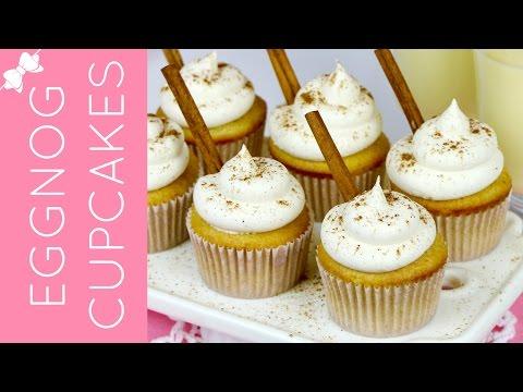 Eggnog Cupcakes // Lindsay Ann Bakes