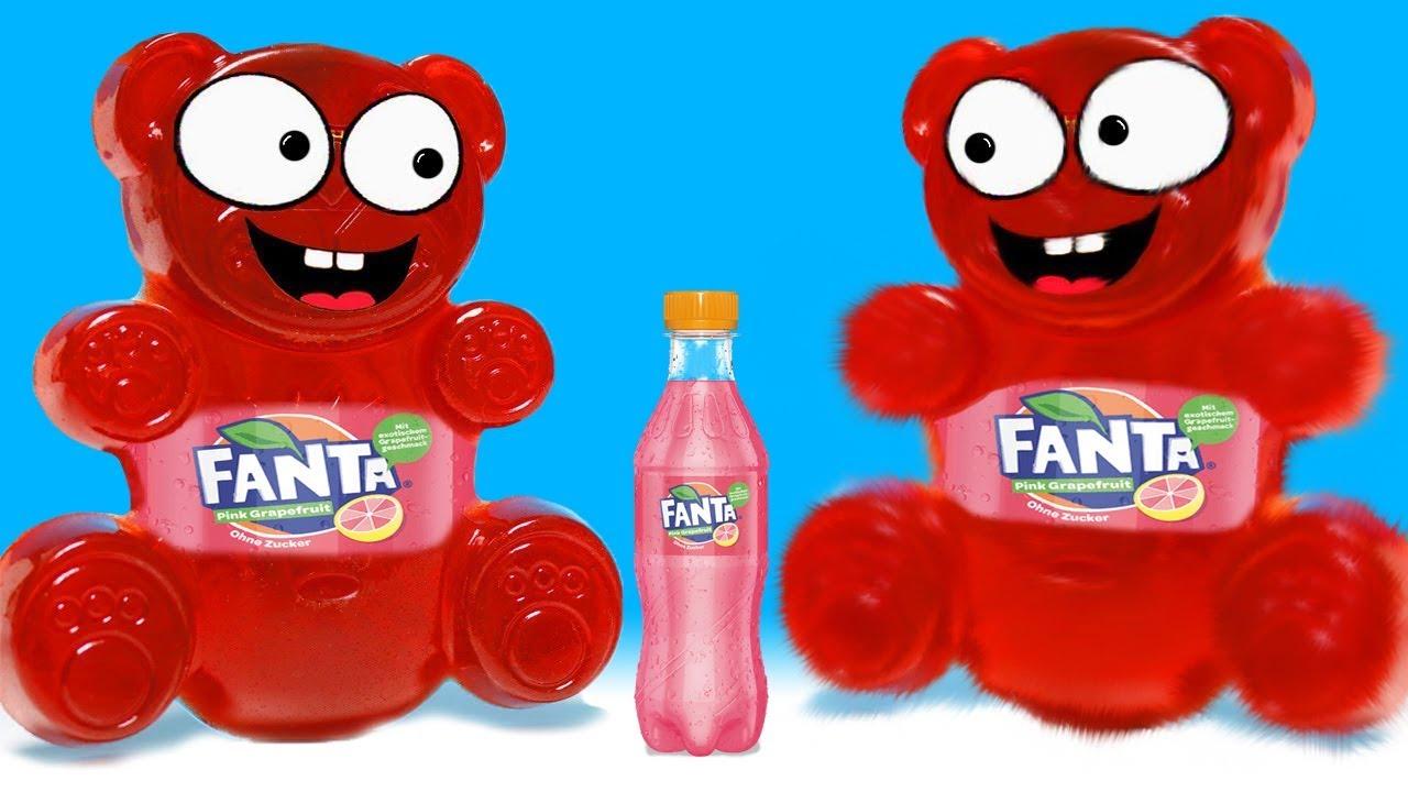 Wie macht man einen Lucky Bär aus Fanta? DiY - YouTube