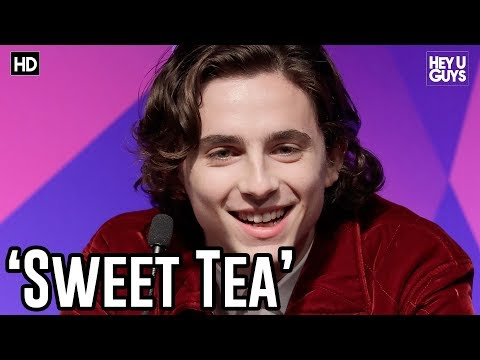 Timothée Chalamet on his new 'Sweet Tea' Nickname | Call Me By Your Name