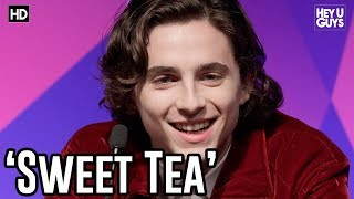 Timothe Chalamet on his new 39Sweet Tea39 Nickname  Call Me By Your Name