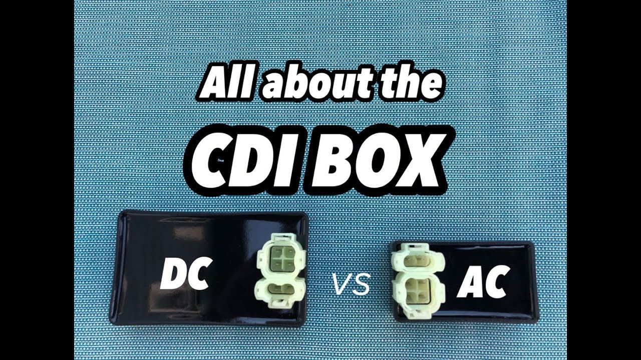 CDI BOX: AC vs DC performance vs stock  Pin Cdi Wiring Diagram Coil on