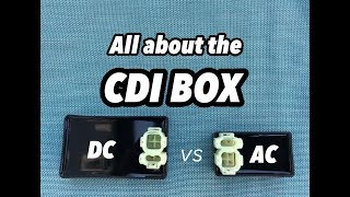 CDI  BOX: AC vs DC performance vs stock