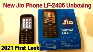 2020 New Jio Phone LF-2406 Unboxing || First Look