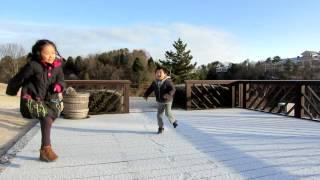 スキップとロボットダンス