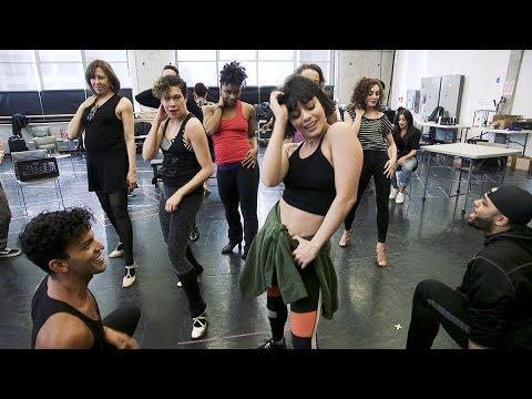 Vanessa Hudgens, Ana Villafañe, and Anthony Ramos in LinManuel Miranda's In the Heights