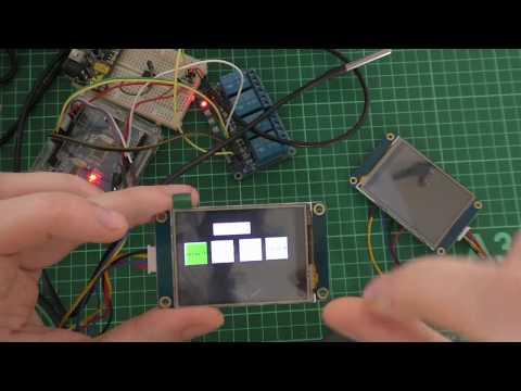 Пример работы Ардуино с дисплеями Nextion в программе FLProg