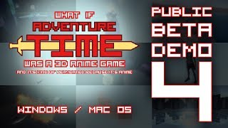 """What if """"Adventure Time"""" was a 3D Anime Game (Public Beta 4 Demo)"""