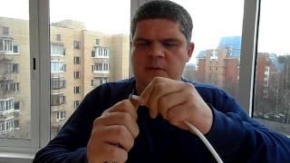 видео Как подключить антенну к телевизору