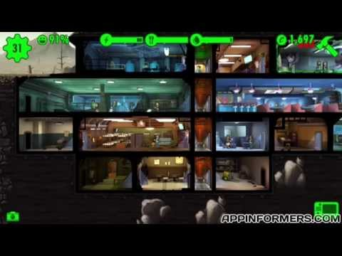 How To Get Gears, Weapons, & Caps In Fallout Shelter