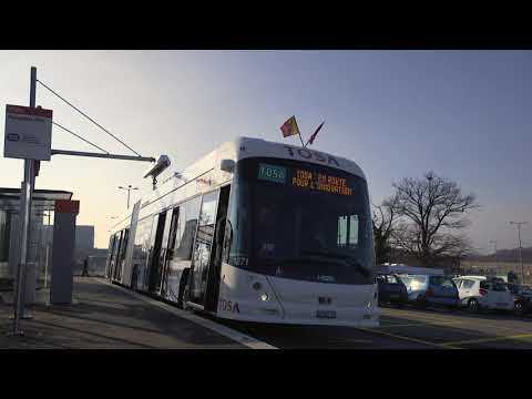"ABB ""flash-charging"" buses go live in Geneva"