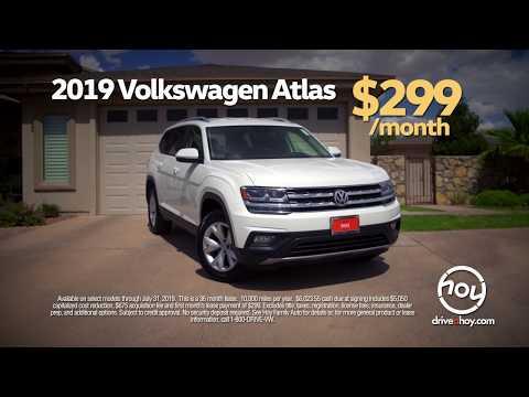New Atlas $299/mo July Lease Special @ Hoy Volkswagen El Paso