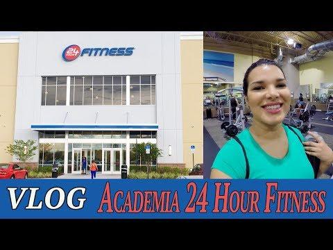Conheça a Academia 24 Hour Fitness em Orlando - VLOG