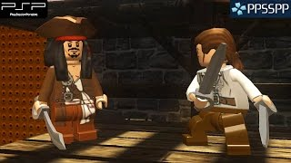 Lego Pirates of the Caribbean: The Video Game - PSP Gameplay 1080p (PPSSPP)