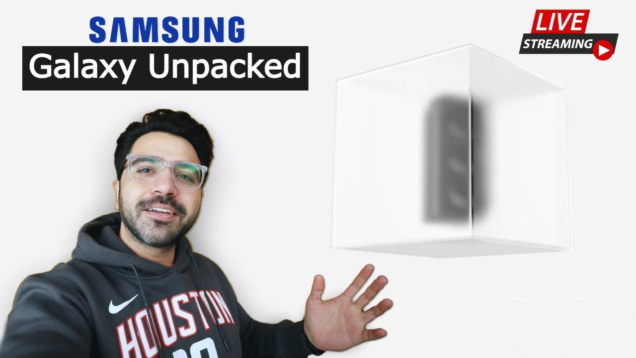 Let's Watch Samsung Unpacked Live Together | Kunal Malhotra