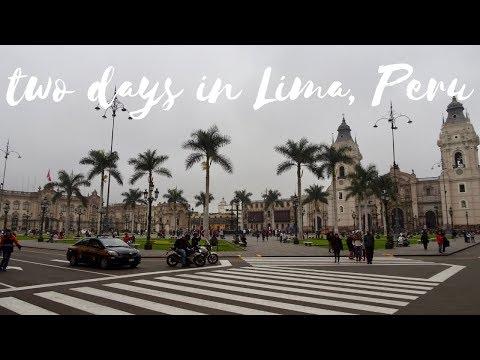 LIMA, PERU TRAVEL VLOG