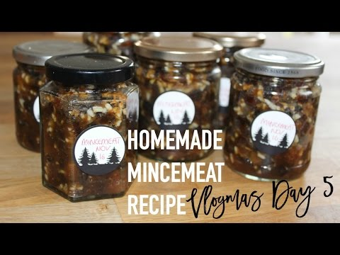 Homemade Mincemeat Recipe | Vlogmas Day 5