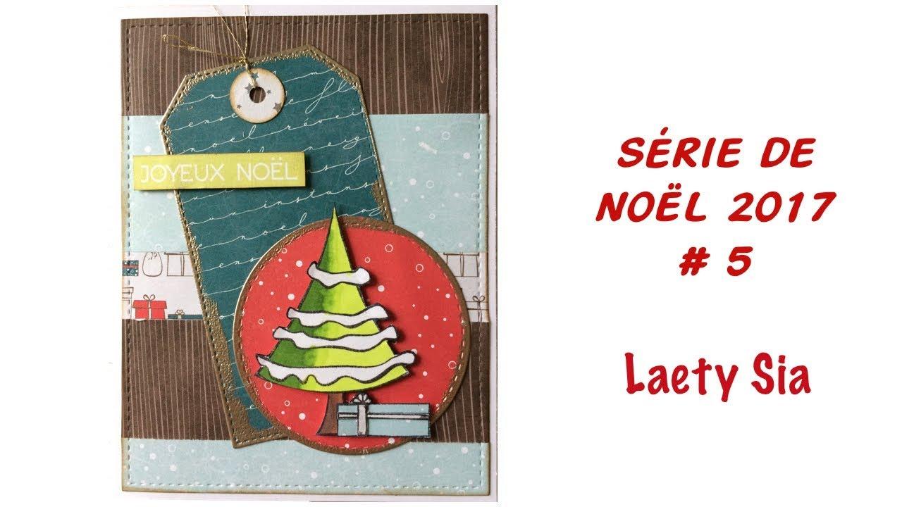 Decoration De Noel Sia.Serie De Noel 2017 Carte 5