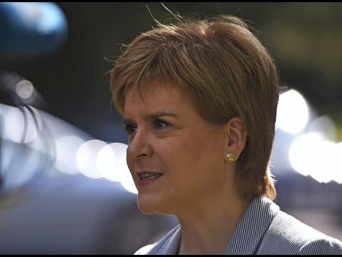 Second Scottish independence referendum must be on table says Nicola Sturgeon