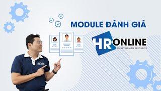 Module đánh giá - phần mềm quản lý nhân sự HrOnline