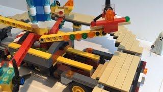 Лего мобильный аттракцион (самоделка) / Lego MOC:  mobile attraction