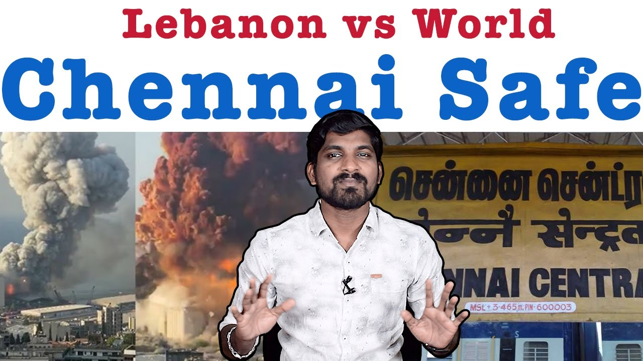 Chennai Safe But..Future?! | Lebanon Beirut Blast After Effects | Tamil Pokkisham | Vicky | TP